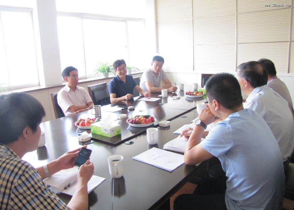 中国无机盐工业协会来山东溴业协会调研